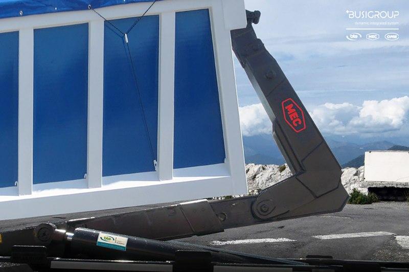 Attrezzatura scarrabile con brandeggio KT FBS da 5 a 35 ton