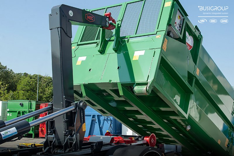 Hooklift equipments SC from 20 to 30 ton