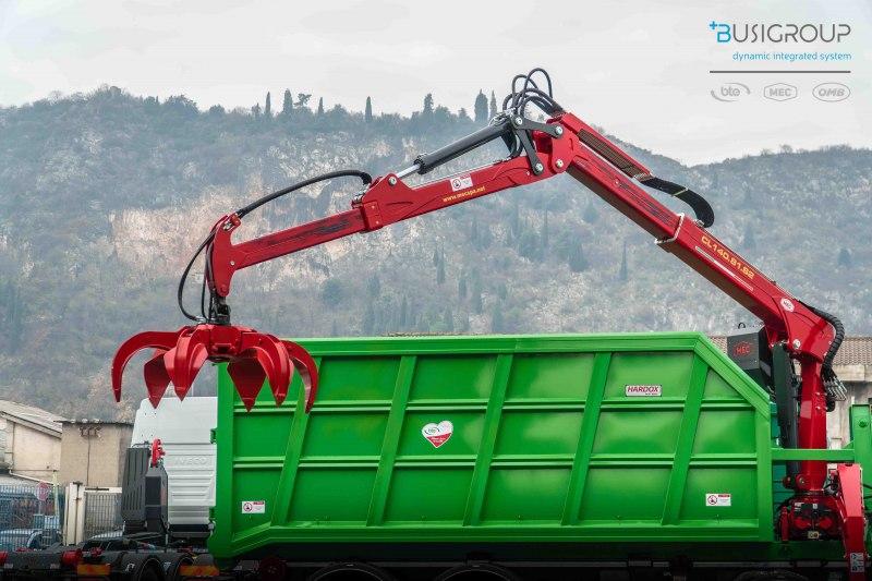 Hydraulic cranes series S